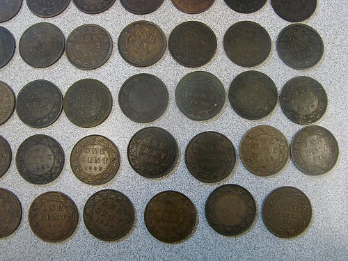 30 canada large cents