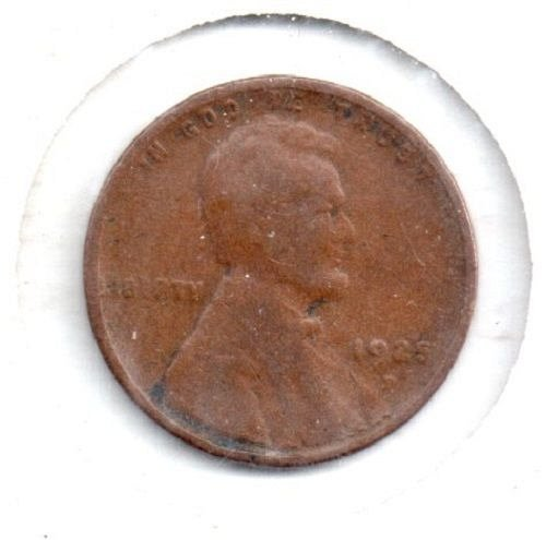 1925 D Lincoln Wheat Penny - #4
