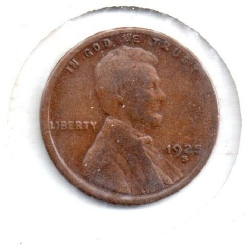 1925S Lincoln Wheat Penny - #4