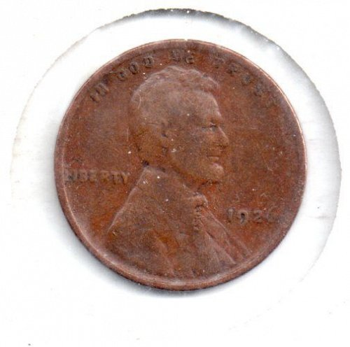 1926 p Lincoln Wheat Penny #4