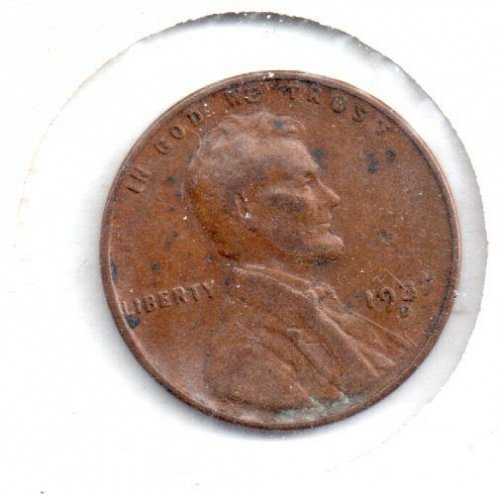 1937D Lincoln Wheat Penny - #4