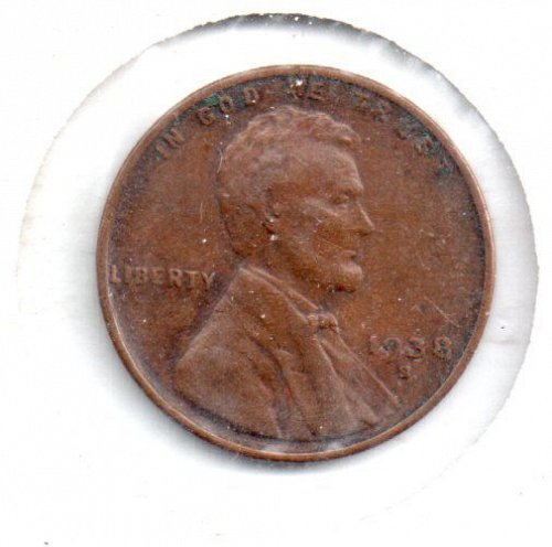 1938S Lincoln Wheat Penny - #4