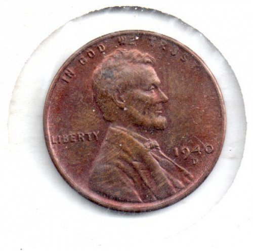 1940d Lincoln Wheat Cent #5