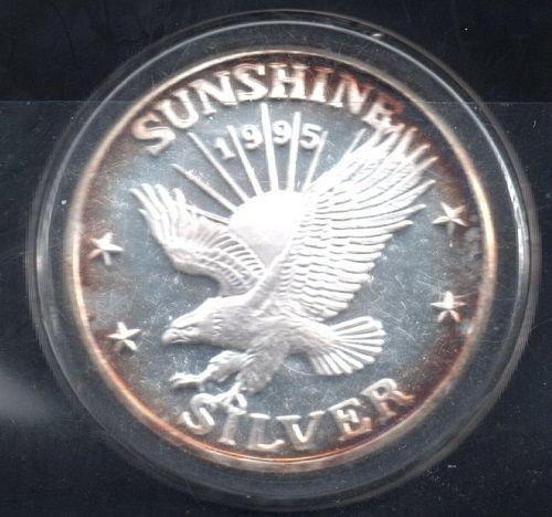 1995 Sunshine Mine of Idaho - 1 Troy Ounce -#1