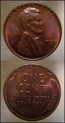 1956 Lincoln Cent Small Cents
