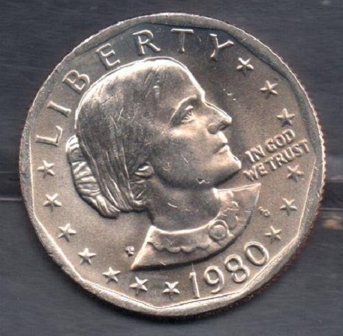 1980P Susan B. Anthony Dollar - #3