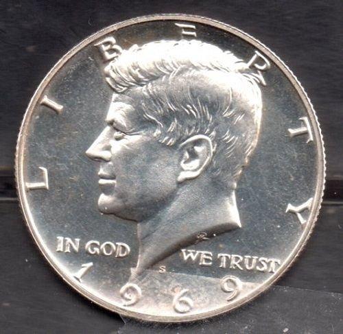 1969S Kennedy Half Dollar - #3