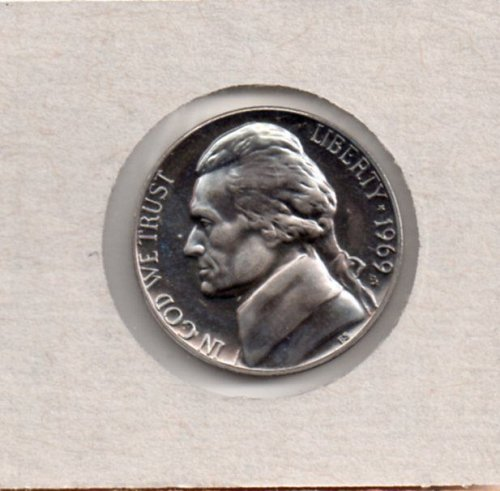 1969 s Proof Jefferson Nickel #2