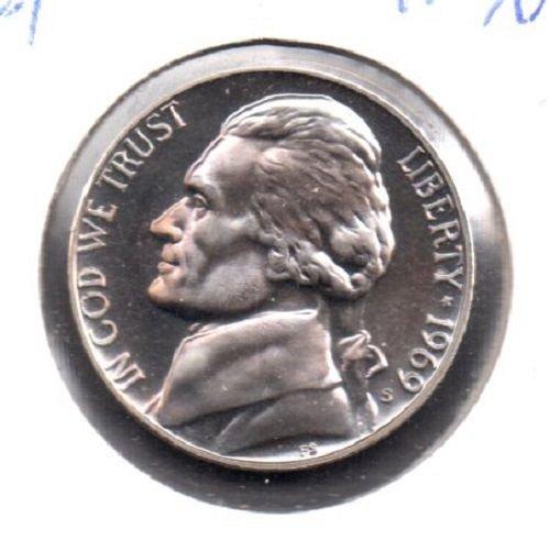 1969 s Proof Jefferson Nickel #3