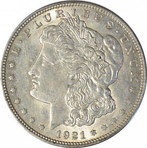 1921 Morgan Dollar,  (Item 052)