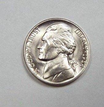 1938 D Washington nickel
