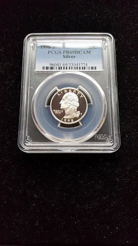 1998 S Proof Silver Quarter PR69DCAM