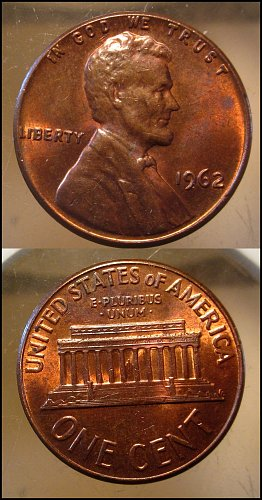 1962 Lincoln Cent Small Cents – Nice Penny
