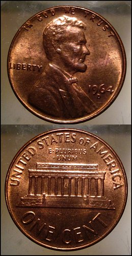 1964 D Lincoln Cent Small Cents – Nice Penny