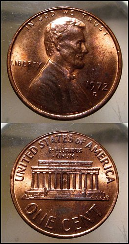 1972 D Lincoln Cent Small Cents – Nice Penny