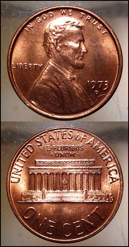 1973 D Lincoln Cent Small Cents – Nice Penny