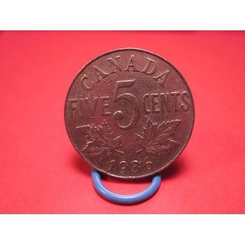 1936 canada nickel
