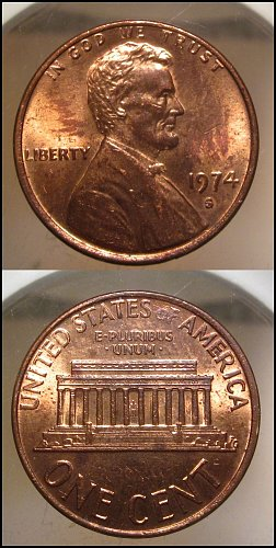 1974 S Lincoln Cent Small Cents – Nice Penny