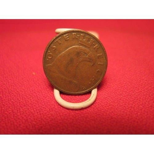 1928 austria 1-groshen oster reich coin