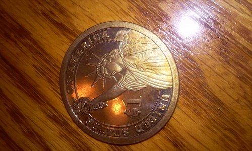 2007 S Washington Presidential dollar