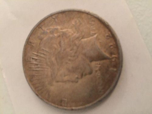 1922 D Peace Dollars Early Silver Dollars