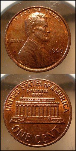 1969 Lincoln Cent Small Cents – Nice Penny
