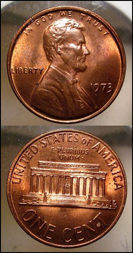 1973 Lincoln Cent Small Cents – Nice Penny