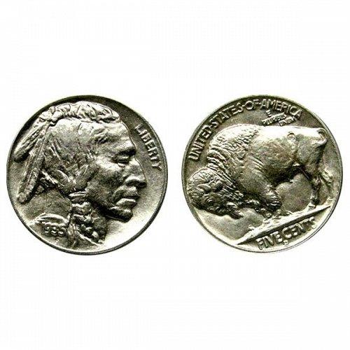 1935 D Buffalo Nickel - Choice BU