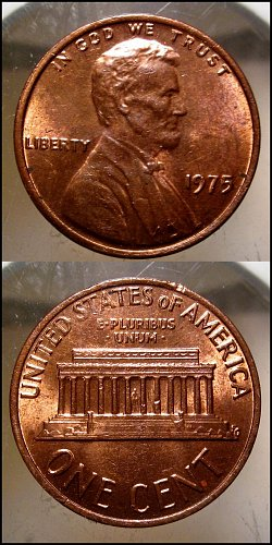 1975 Lincoln Cent Small Cents – Nice Penny