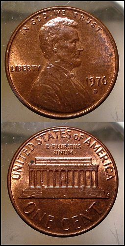 1976 D Lincoln Cent Small Cents – Nice Penny