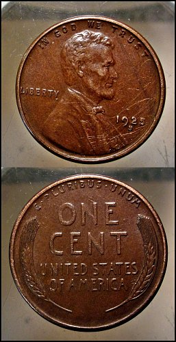 1925 S Lincoln Cent Small Cents – Nice Penny