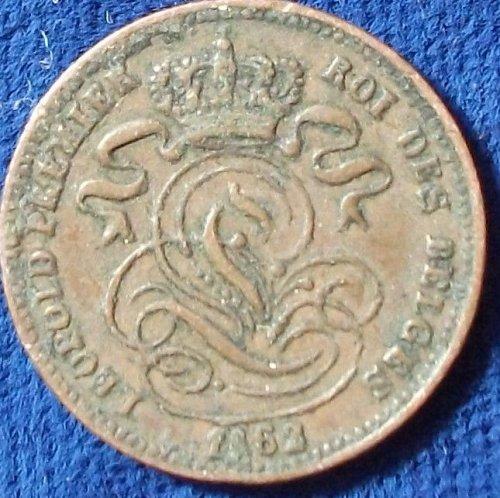 1862 Belgium Centime VF