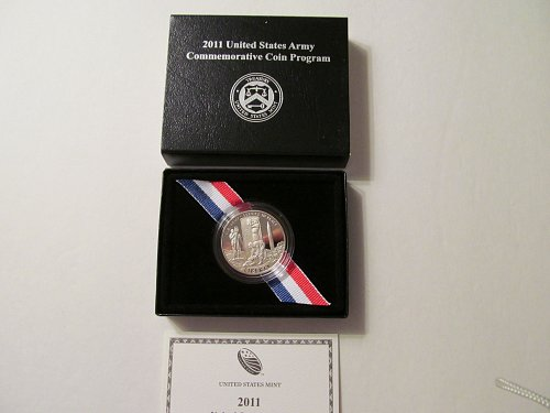 2011 United States Army Commemorative Clad Half Dollar