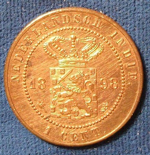 1898 Netherlands East Indies Cent UNC