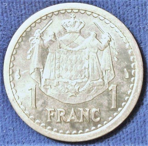 ND (1943) Monaco Franc BU