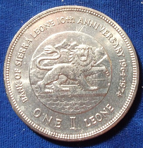 ND (1974)Sierra Leone 1 Leone UNC