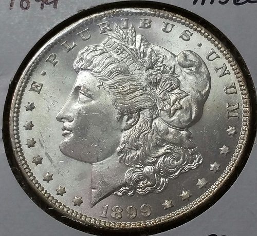 1899 Morgan Dollar - MS 62