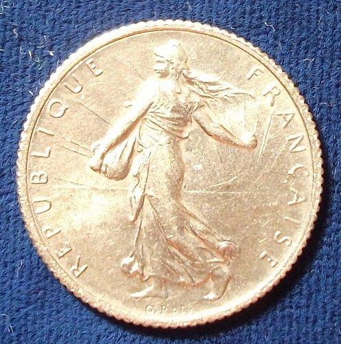 1919 France Franc BU