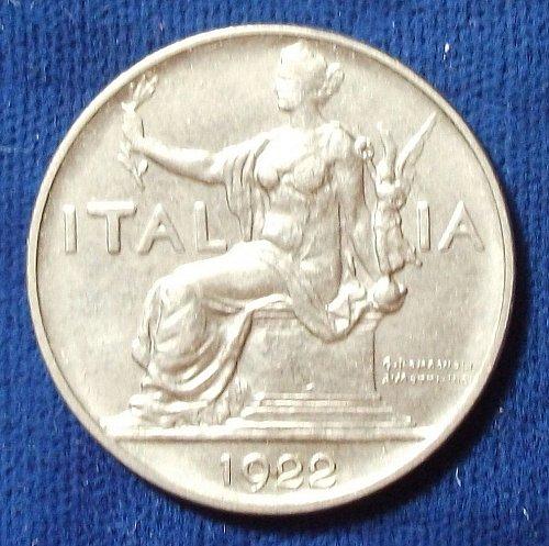1922 Italy Lira AU