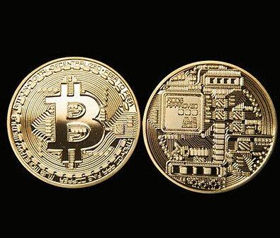 1 Bitcoin Coin Souvenir Collectible Btc