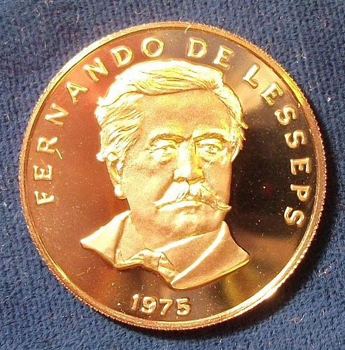 1975 Panama 50 Centesimos Proof
