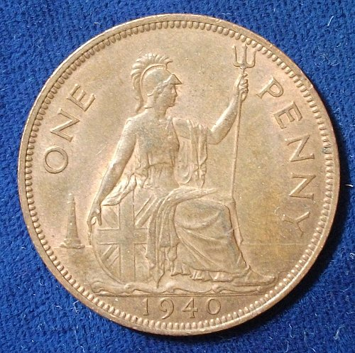 1940 Great Britain Penny AU
