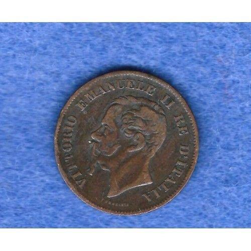 1861m  italy 5 centesimi