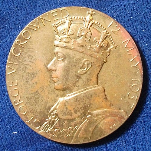 12 May 1937 King George VI/Queen Elizabeth Coronation Medal