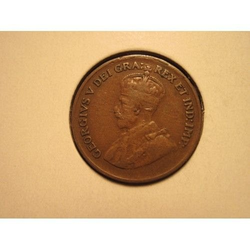 1929 canada small penny
