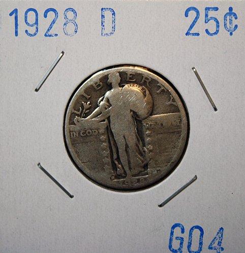 1928 D STANDING LIBERTY QUARTER