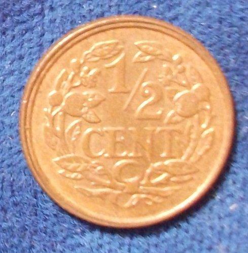 1912 Netherlands 1/2 Cent UNC