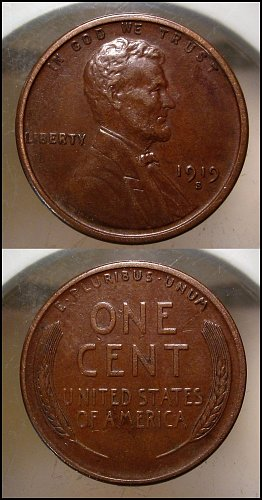 1919 S  Lincoln Cent Small Cents – Nice Penny