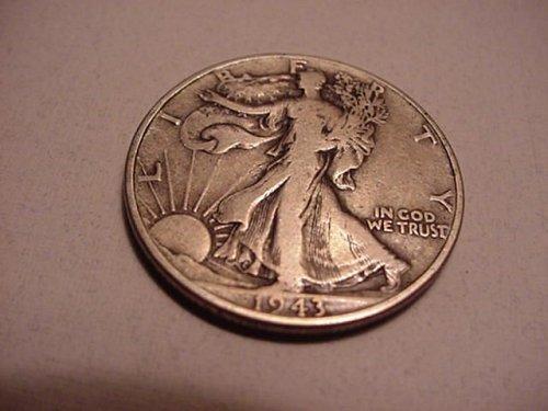 1943 silver half dollar 90%