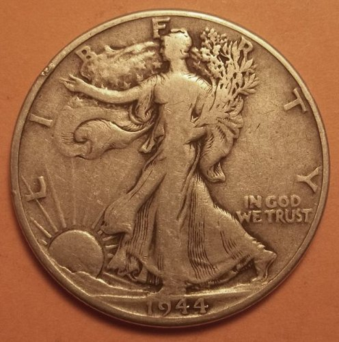 1944 Liberty Walking Half Dollar Lot WHDmE